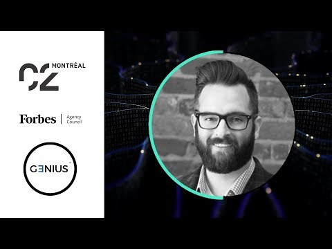 Kyle Nel speaking about Innovation Labs at C2 Montreal