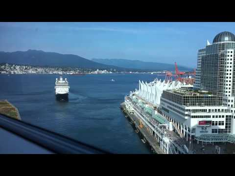 Vancouver BC Canada, Cruise Ship Terminal August 12, 2017