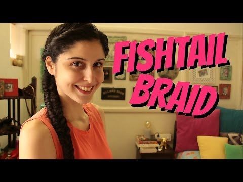 Fishtail Braid For Curly/Frizzy Hair!