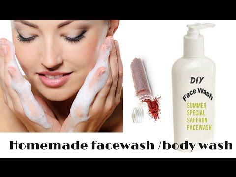 Homemade bodywash / facewash for summer |DIY facewash
