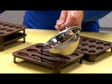 Chocolate mould sets TESCOMA DELÍCIA Choco, spoons and coffee beans