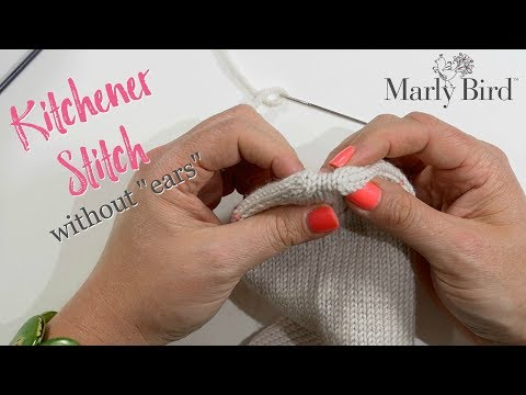 How to Kitchener Stitch Socks Without Ears