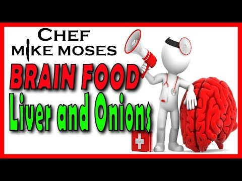 Perfect Liver and Onions - How to cook tender moist Liver. perfect brain Food.