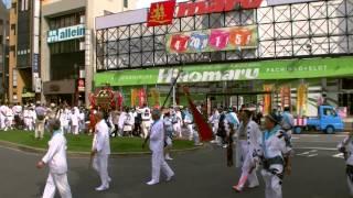 2014年7月20日(日) JR姉ヶ崎駅前集結 上町神輿到着@姉崎神社夏季例大祭