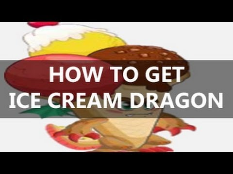 How To Get ICE CREAM DRAGON in Dragon City