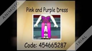 Roblox High School Prom Codes