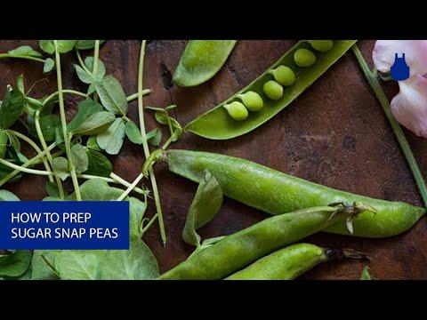How To: Prep Sugar Snap Peas