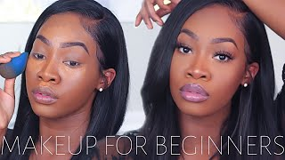 MAKEUP FOR BEGINNERS (Very Detailed!) | Maya Galore