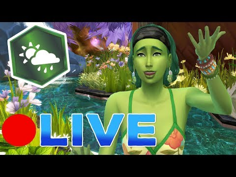 LIVE 🔴 SIMS 4: SEASONS 🌷🌞The Great Seed Hunt!! 🍂⛄ - OASIS CHALLENGE • #3