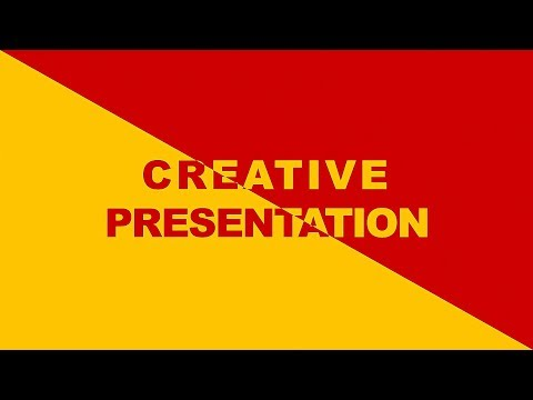 Creative Slide for Presentation - PowerPoint Tutorial