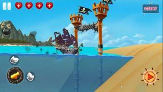 Chơi cuộc phiêu lưu của cướp biển Pirate Adventure cu lỳ chơi game lồng tiếng vui nhộn