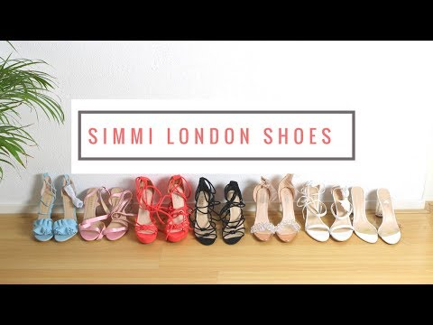 SIMMI SHOES COLLECTION    LACE UP HEELS   STRAPPED & PERSPEX HEELS   & More