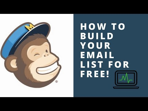 Build Your Mailchimp Email List For Free! - Grow Your Email List Fast!