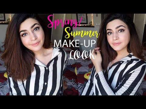 Everyday Basic Spring/Summer Glowy Make-up Look | GLOSSIPS