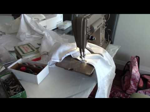 Slowing down vintage sewing machines and preventing overheating