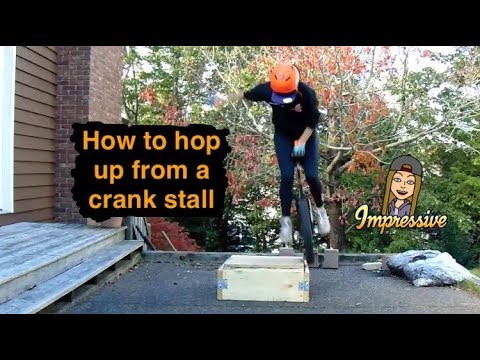 How To Hop Up From A Crank Stall On A Unicycle