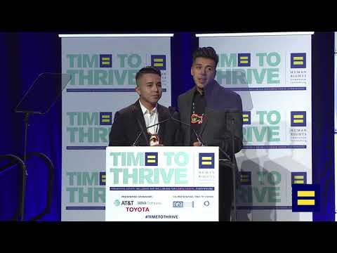 Native American Two Spirit Dancers at 2018 LGBTQ Time to Thrive Youth Conference