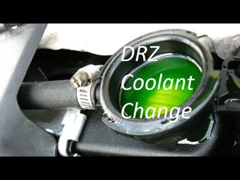 How to Change Your Coolant on a DRZ400