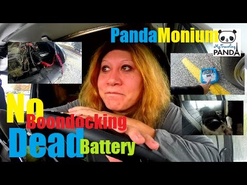 NO Boondocking In Keene, New Hampshire & DEAD Battery - RV Living Vlog