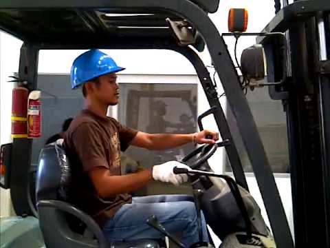 Forklift drivers test