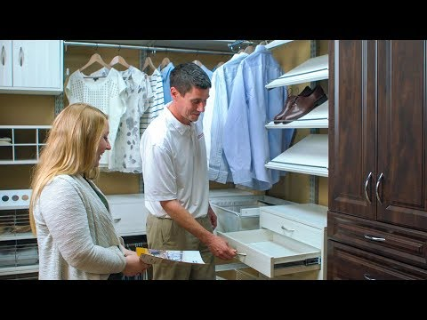 How Organized Living Makes Selling Closets Easy