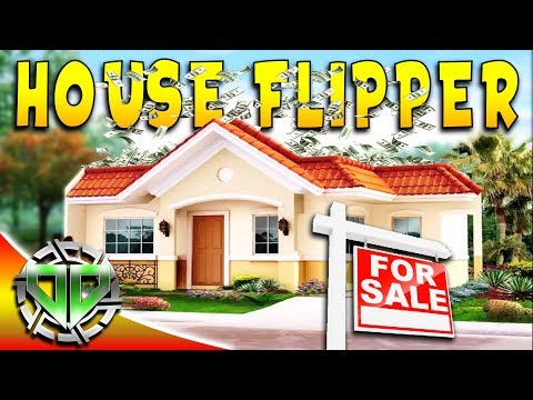 House Flipper Gameplay : Buying and Flipping Our First House : PC Lets Play