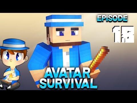 Minecraft - Avatar the Last Block Bender Survival - Episode 18 - Snowball OP