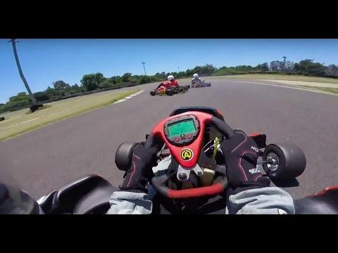 Go Kart Crash   Butterfly Farm / Indy 800