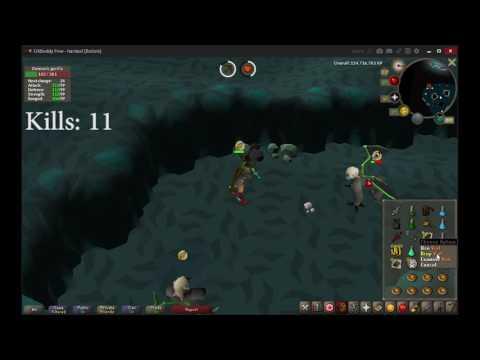 OSRS Demonic Gorillas gear + loot test #1