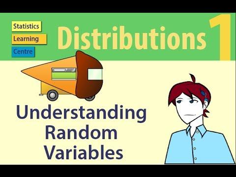 Understanding Random Variables - Probability Distributions 1