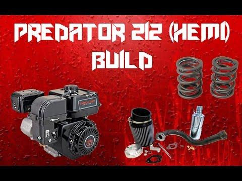Predator 212 (Hemi) Go Kart Engine Build