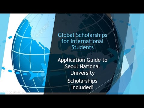 Seoul National University Scholarships and Admissions Guide for International Students!