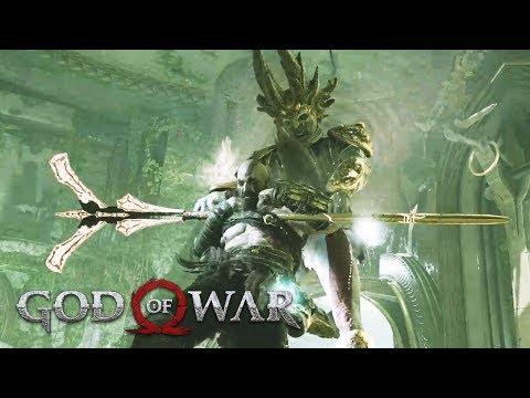 Dark Elf Commander Boss Fight GOD OF WAR 4 (PS4 Pro)