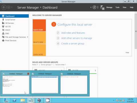 Deploy printers by using group policy windows server 2012