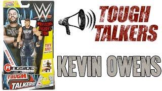WWE FIGURE INSIDER: Kevin Owens - Mattel WWE Tough Talkers Series 1!