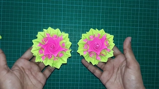 How To Make A Paper Flower Beautiful Origami Flower Diy Tutorials