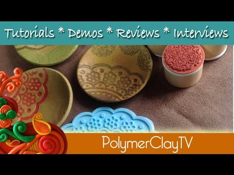 How to make a ring or trinket bowl easy tutorial from polymer clay