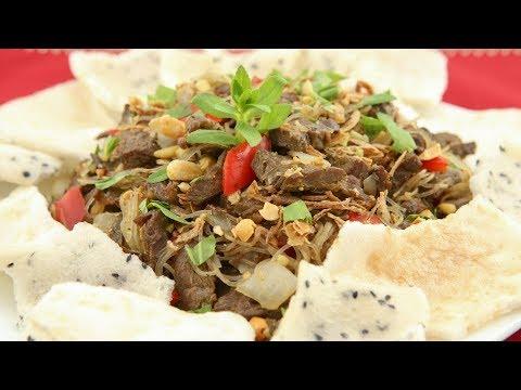 Beef Stir-Fry Appetizer (Bo Xao Lan )