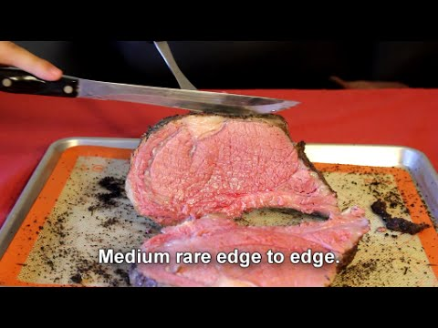 Sous Vide Prime Rib - Perfect medium rare