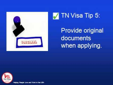 Learn Everything About the TN Visa Application