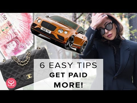 GET MORE MONEY DOING YOUR JOB | 6 Easy & Fast Tips! | Sophie Shohet