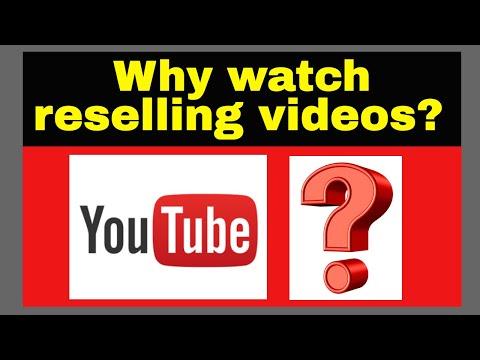 Why do people watch reselling videos???
