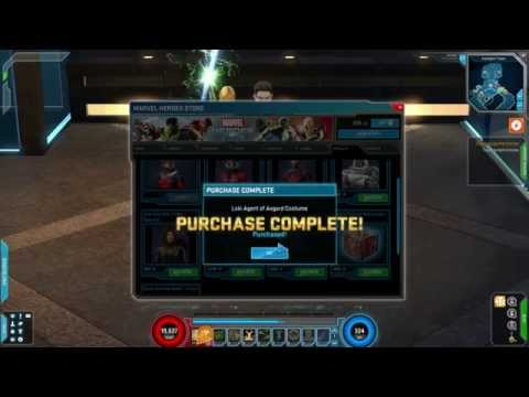 How do you farm loki marvel heroes -