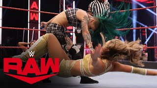 Ruby Riott vs. Peyton Royce: Raw, June 29, 2020