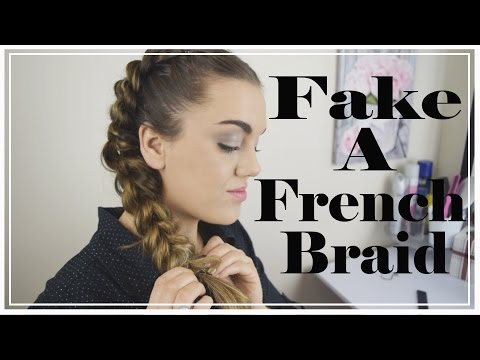 How to Fake a French Braid