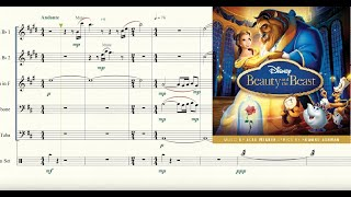 Belle (from Beauty and the Beast) for Brass Quintet Sheet Music