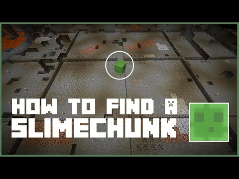 Minecraft: How to find a Slimechunk in Multiplayer 1.9