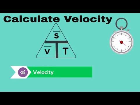 Calculate Average Velocity