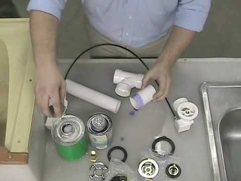 Keeney Manufacturing Cable Drive Bath Drain Install Tutorial