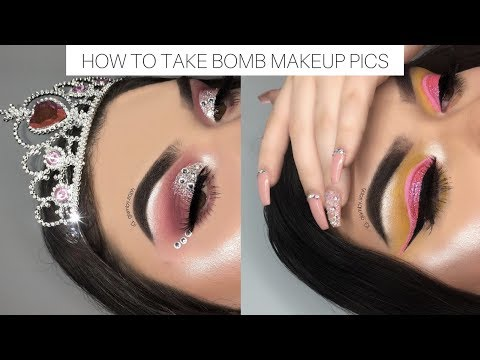 how to take bomb makeup pictures ♡ glam by soph